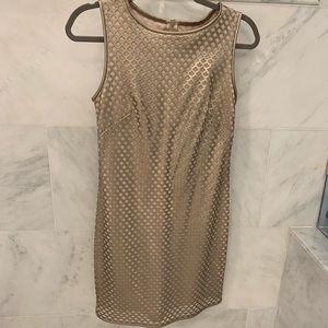 Gold Chelsea & Violet cocktail dress